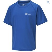 Hi Gear Regulate Boys Tech Tee - Size: 7-8 - Colour: Blue