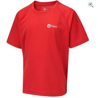 Hi Gear Regulate Boys Tech Tee - Size: 34 - Colour: Red