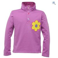 Regatta Rogue Girls Sweater - Size: 11-12 - Colour: Dewberry Purple