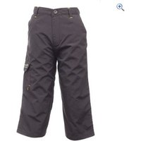 Regatta Warlock Kids Capri Trousers - Size: 5-6 - Colour: Ash