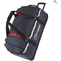Berghaus Mule 100 Wheeled Travel Luggage - Colour: SLATE-BLACK