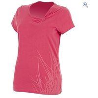 Berghaus Reed Womens Tee - Size: 10 - Colour: Geranium