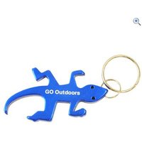 GO Outdoors Lizard Bottle Opener Keyring - Colour: Assorted