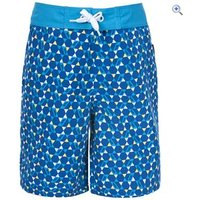 Trespass Kyle Boys Swim Shorts - Size: 3-4 - Colour: Dark Blue