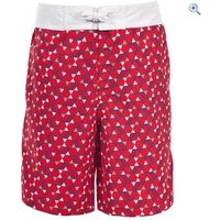 Trespass Kyle Boys Swim Shorts - Size: 7-8 - Colour: Red