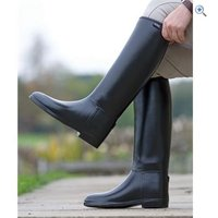 Shires Mens Long Rubber Riding Boots - Size: 46 - Colour: Black
