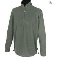 Jack Pyke Lightweight Fleece Top - Size: XXL - Colour: Green