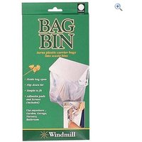 Quest Carrier Bag Bin - Colour: White