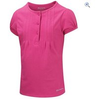 Sprayway Tori Girls Tee - Size: 12 - Colour: Hot Pink