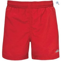 Trespass Trey Boys Shorts - Size: 11-12 - Colour: Red