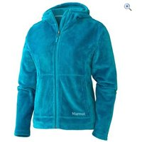 Marmot Flair Womens Fleece Hoody - Size: S - Colour: Green