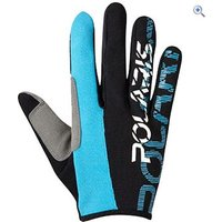 Polaris AM Defy Cycling Gloves - Size: S - Colour: BLACK-CYAN