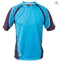 Polaris Nomad Cycling Shirt - Size: S - Colour: CYAN-BLACK