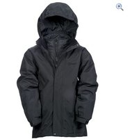 Hi Gear Revel Childrens 3-in-1 Jacket (with Insulated Inner Jacket) - Size: 7-8 - Colour: Black