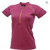 Dare2b Illuminee Womens Cycling Jersey - Size: 10 - Colour: Magenta