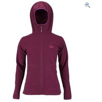 Lowe Alpine Odyssey Womens Fleece Jacket - Size: 8 - Colour: EGGPLANT