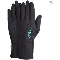 Rab Powerstretch Womens Glove - Size: S - Colour: Black