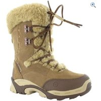 Hi-Tec St Moritz 200 Kids Snow Boots - Size: 13 - Colour: Brown And Cream