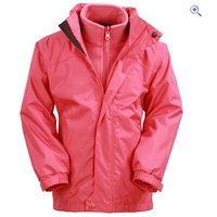 Hi Gear Trent Childrens 3-in-1 Jacket - Size: 5-6 - Colour: Pink