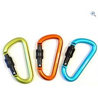 Handy Heroes D Shaped Carabiner - Colour: Assorted