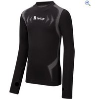 The Edge Flow Form Womens Baselayer Top - Size: XS-S - Colour: Graphite