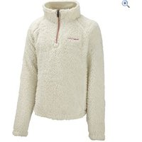 Craghoppers Iskaro Girls Half Zip Microfleece - Size: 9-10 - Colour: Vanilla