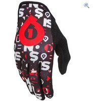 SixSixOne Comp Repeater Glove - Size: XS - Colour: Black / Red
