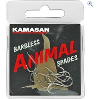 Kamasan Animal Spades Hooks (Heavy, Barbless) Size 18