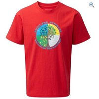 Hi Gear Bosna Boys Tee - Size: 5-6 - Colour: Red