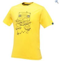 Dare2b Frequency Mens Tee - Size: M - Colour: BRIGHT YELLOW