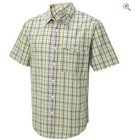 Craghoppers Grady Short-Sleeved Mens Shirt - Size: S - Colour: BRIGHT LIME