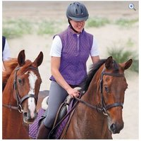 Shires Montreal Ladies Waistcoat - Size: XS - Colour: Purple