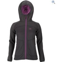 Lowe Alpine Vault Womens Hoody - Size: 8 - Colour: Anthracite Grey