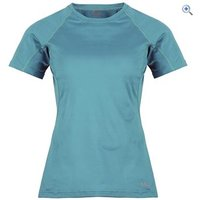 Rab Aeon Plus Womens Tee - Size: 12 - Colour: AEGEAN
