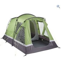 Hi Gear Aura 3 Family Tent - Colour: EMERALD GREEN