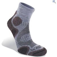 Bridgedale Coolfusion Trail Diva Womens Walking Sock - Size: M - Colour: HEATHER-DAMSON