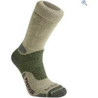 Bridgedale Essential Kit Trekker Mens Walking Sock - Size: M - Colour: Green