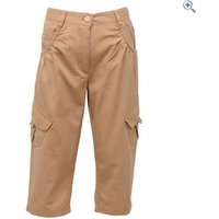 Regatta Moonshine Girls Capri - Size: 9-10 - Colour: Beige