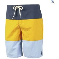 Protest Hoffman Beachshort Mens - Size: S - Colour: YELLOW-BLUE