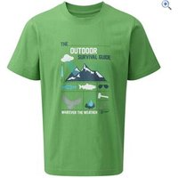 Hi Gear Nelson Boys Tee - Size: 13 - Colour: Green
