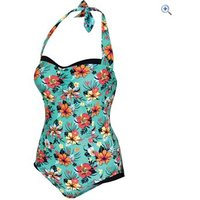 Trespass Vivica Womens Swimsuit - Size: XS - Colour: Spearmint