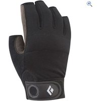 Black Diamond Crag Half-Finger Gloves - Size: S - Colour: Black