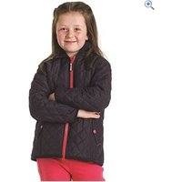 Harry Hall Coates Quilted Jacket - Size: 11-12 - Colour: Navy