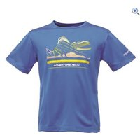 Regatta Starcrest Kids Tee - Size: 11-12 - Colour: Blue