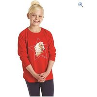 Harry Hall Faxton Junior T-Shirt - Size: 5-6 - Colour: Red