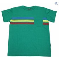 Trespass Jackline Boys T-Shirt - Size: 5-6 - Colour: Deep Green