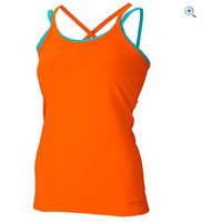 Marmot Erin Tank Womens Top - Size: XL - Colour: ORANGE-TURQ