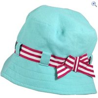 ProClimate Girls Sun Hat - Colour: CAPRI BLUE