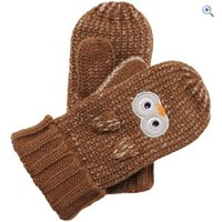 Regatta Viva Animal Kids Mitts - Size: 1-2 - Colour: OWL
