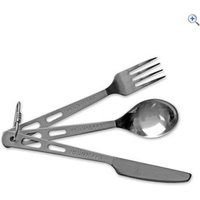 Lifeventure Titanium KFS Set Camping Cutlery - Colour: 9515